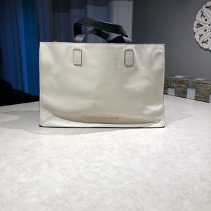 Marc by Marc Jacobs black and white tote